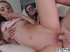 Cute Avery Adair gets fucked by her stepbrother