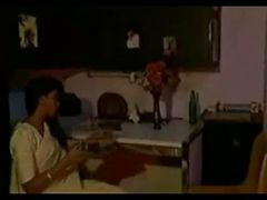 Indian Blue Film-Sexy figured Lady-