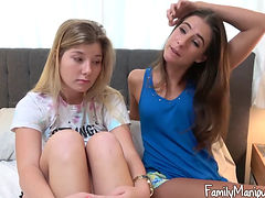 Tara Ashley And Vienna Rose  Get Fucked By Their Daddy