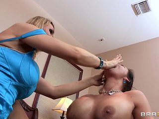hot babes fucking with huge plastic cock