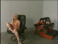 Mistress punishes her servant