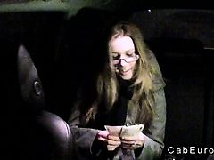 Czech amateur banging in fake taxi pov