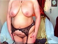 Hottest Amateur video with BBW, Stockings scenes