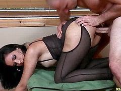 This big butt Latina takes the cock hard.