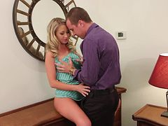 Mandy Armani  Gets A Change Of Heart About Her Clothes After A Good Fuck