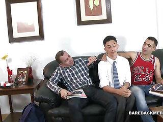 Latin Daddies Bareback Young Isaac