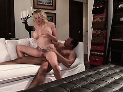 Stormy Daniels gets her hands used by horny hard-dicked dude